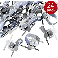 24 Pieces Elastic Wrist Corsage Bands, Elastic Wristlets for Wedding Prom Flowers