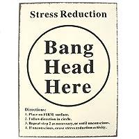 (サムシング・ディファレント) Something Different ウォールサイン Bang Head Wall 看板 デコレーション 飾り (ワンサイズ) (マルチカラー)