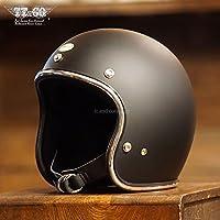 TT&CO. スーパーマグナム クロームトリム マットブラック 乗車用 SG/PSC/DOT規格品 ジェットヘルメット