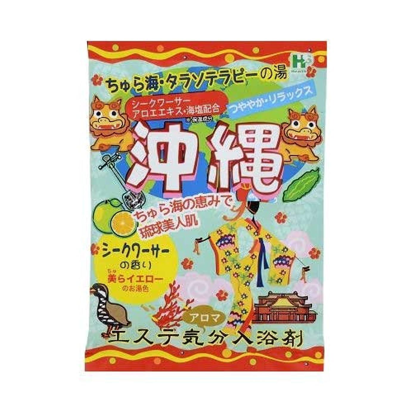 数値収まる購入エステ気分アロマ入浴剤 沖縄 40g