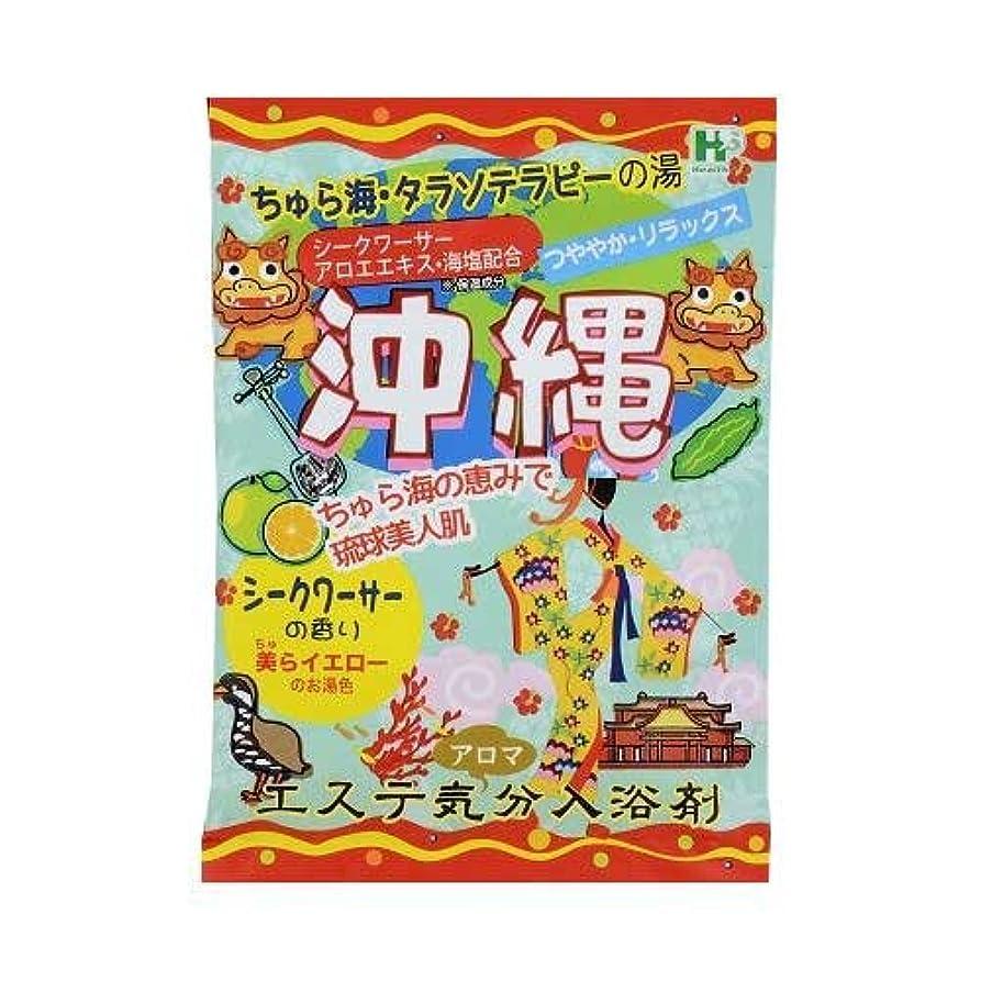 陽気な文献ペーストエステ気分アロマ入浴剤 沖縄 40g