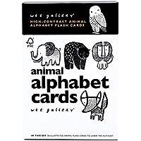 Wee Gallery(ウィーギャラリー) 動物アルファベットカード 視覚の発達を促す高コントラスト