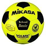 ミカサ サッカーボール4号検定球 黄/黒 SVC402SBC-YBK