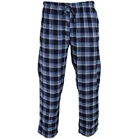 Buccini Mens Flannel Lounge Trousers