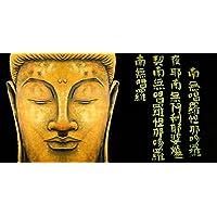 抽象アートZen Buddha Painting Buddhist Meditation Fineアートプリント絵画キャンバスの