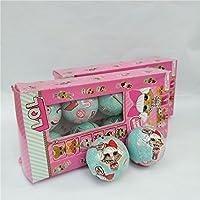 8pcs /セット人形ベビーマジックファニーリムーバブルBonecaエッグボール人形おもちゃ教育Novelty Kids Unpacking Dolls forギフト