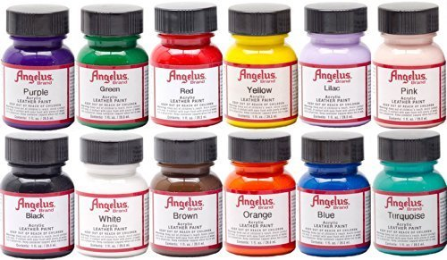 Angelus Acrylic Leather Paint Starter Kit by Angelus [並行輸入品]