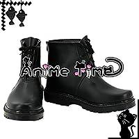 ●●サイズ選択可●●女性24CM MJR1115 コスプレ靴 ブーツ Little Busters! リトルバスターズ! 能美 クドリャフカ Nomi