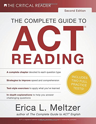 Download The Complete Guide to ACT Reading, 2nd Edition 0997517824