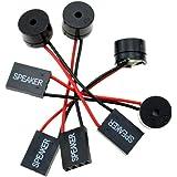 【4個入り】PCマザーボード用 ブザーユニット ビープスピーカー コンピューターブザー ビープ音 PC組立て 紛失予備 問題チェック