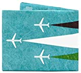 Paperwallet (ペーパーウォレット) Slim Wallet (スリムウォレット) 二つ折り財布 Tyvek (タイベック) 世界のアーティストとコラボしたサイフ (Fly Gelada)