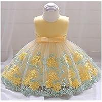 ベビードレス 赤ちゃんワンピース ノースリーブ 結婚式 セレモニードレス お宮参り フォーマル お誕生日 記念写真