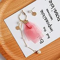 ジュエリー/レディース/ピアス/イヤリング/Women Hook Pendant Earrings Dangle Drop Eardrop Jewelry Pink Heart Korea