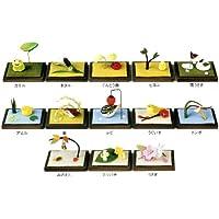 『ミニ季節の庭 13種』 手作りちりめん細工 なごみの和雑貨
