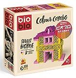 [はじめてセット/女の子用] ビオブロ スイートホーム(洗える木製つみ木)/Bioblo Combo Sweethome 40ピース