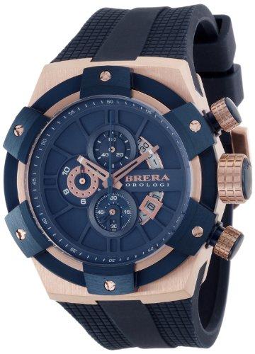 [ブレラ オロロジ]BRERA OROLOGI 腕時計 スーパースポルティーボ BRSSC4910 ローズゴールド×ブルー BRSSC4910 メンズ 【正規輸入品】
