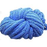ウールニット毛糸(超太い) 手作り 編み物 秋冬 ふわふわ プレゼント