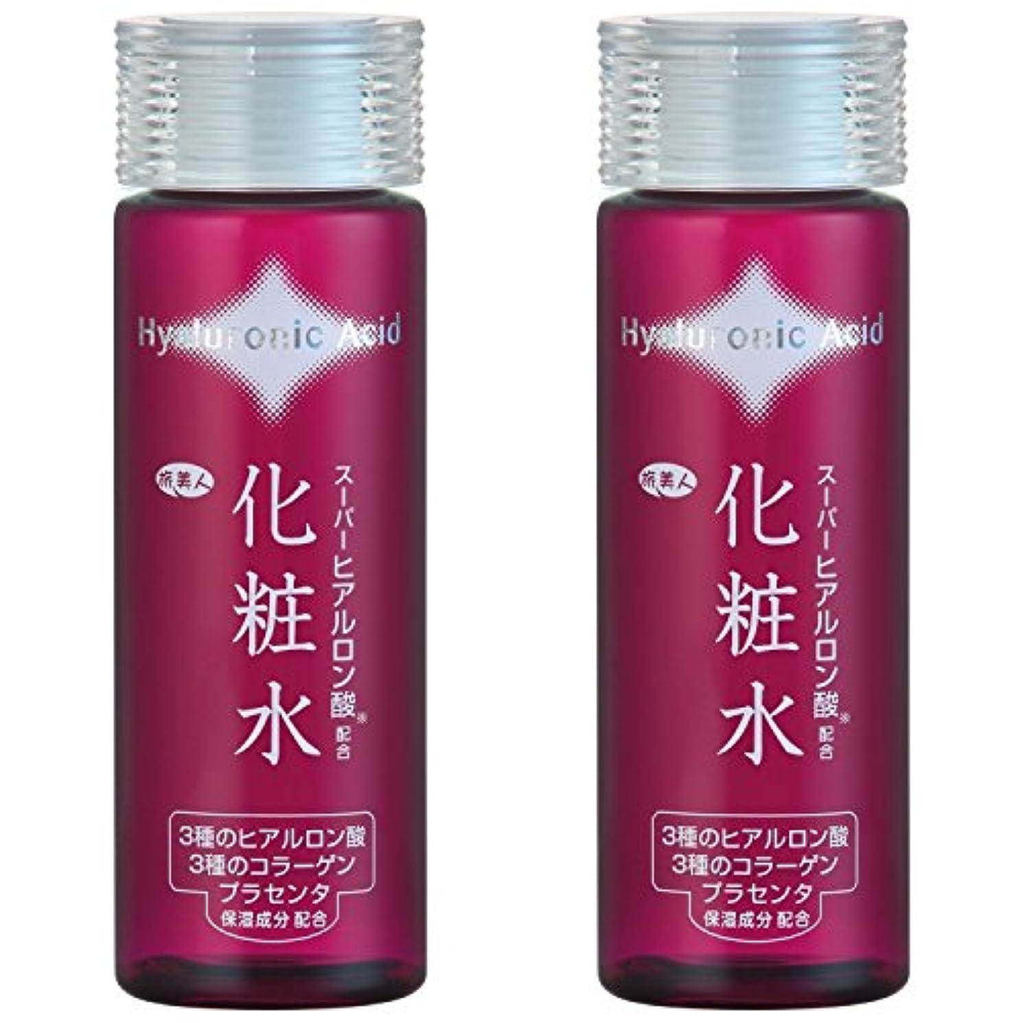 失敗無力架空のアズマ商事の スーパーヒアルロン酸配合 化粧水2本セット / 7種の整肌保湿成分を贅沢配合 旅美人