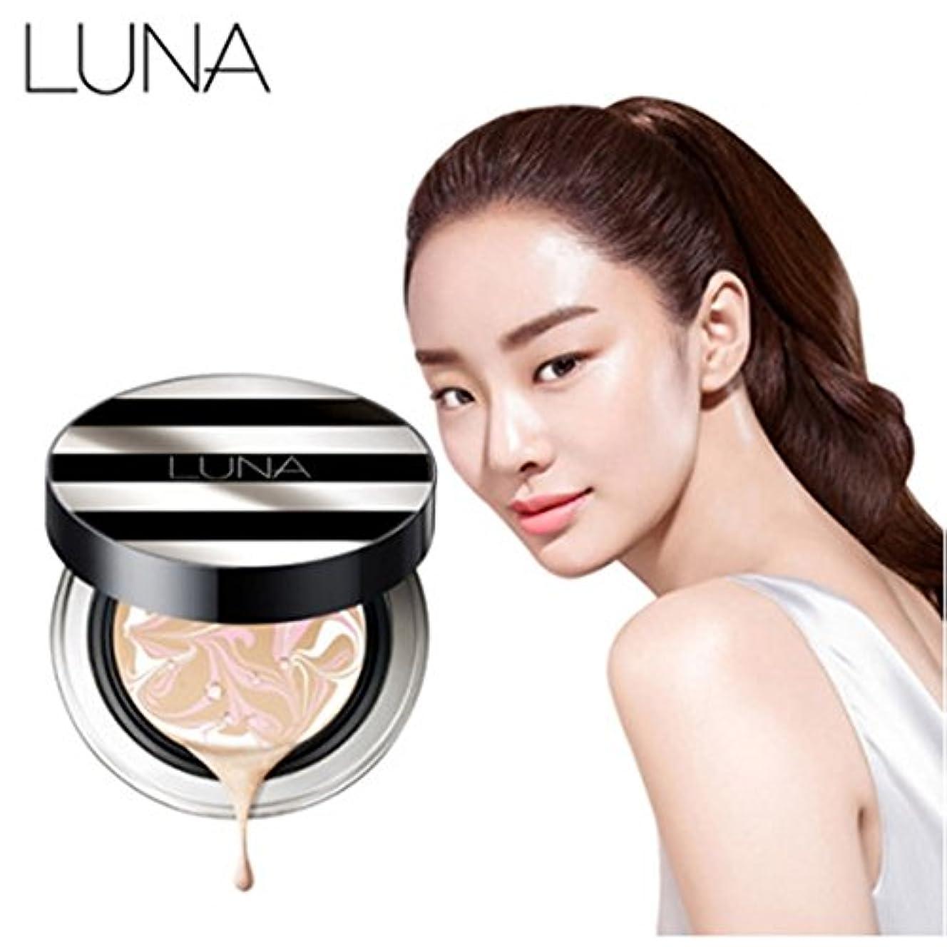アクセス巨大な理由【 LUNA 】 エッセンスウォーターファクトFX 【 ルナ】 Essence Water Pact FX 詰め替えを含む 韓国製 (No.21 (Light Beige))