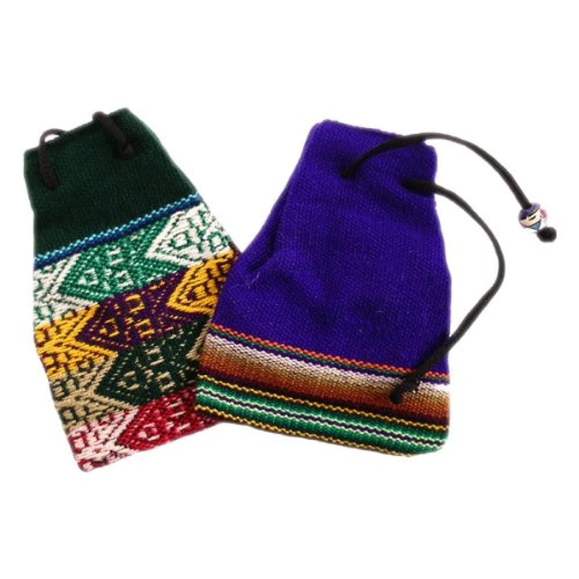 ミリメートル保護インカ帝国薬バッグコットンHand Woven 3