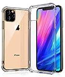 iPhone XI MAXケース 2019 アイフォンXI MAX ケース Apple iPhone11ケース 6.5 [ 耐衝撃 TPU ケース ] [ 全面 クリア ][ 米軍MIL規格取得 ] [ Qi 充電 対応 ] [ 落下 衝撃 吸収 耐衝撃] (iPhoneXI MAXケース, クリスタル・クリア)