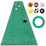 GolfStyle パターマット ゴルフ パター 練習 マット ベント ゴルフボール付き 30cm×3m Jシリーズ