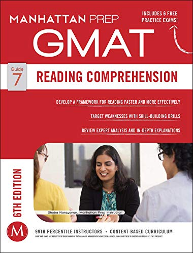 Download Reading Comprehension GMAT Strategy Guide, 6th Edition (Manhattan Prep GMAT Strategy Guides) 1941234062