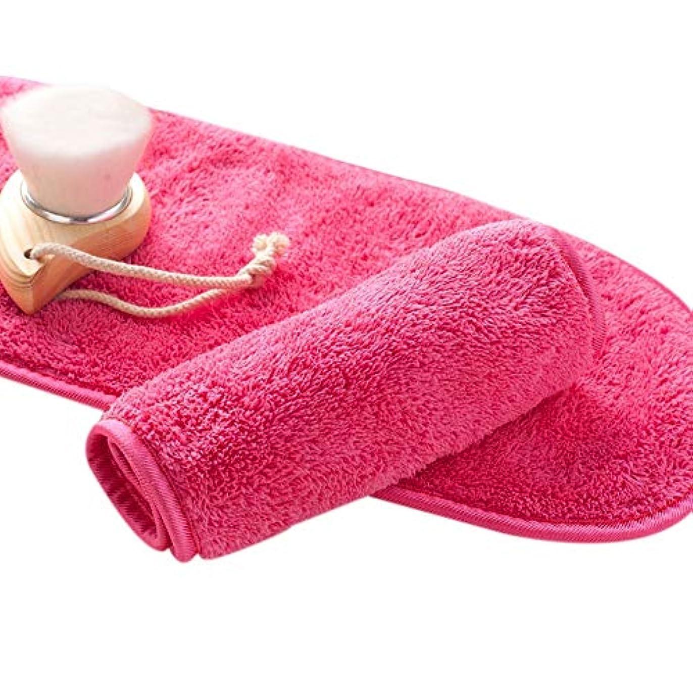 省減る正確さGaoominy ナチュラル抗菌保護 メイク落とし クレンジング美容ウォッシュツール 再利用可能なマイクロファイバーのフェイシャルクロス 顔用タオル