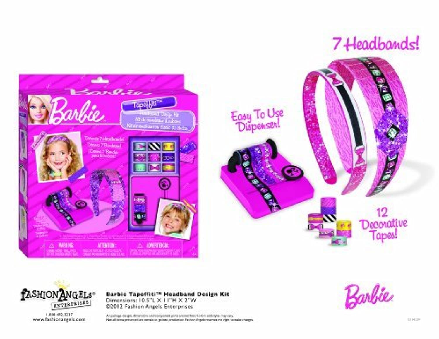 Barbie Taeffiti Headband Kit [並行輸入品]