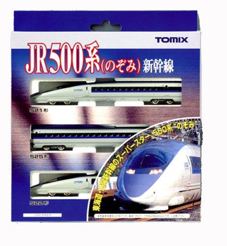 Nゲージ 500系新幹線(のぞみ)基本セット(3両)