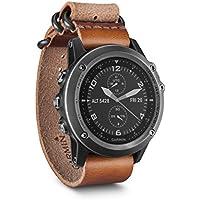 Garmin 010-01338-82 Fenix 3,Sapphire Gray with Leather Strap GPS Watch,NA