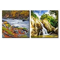 "wall26 Modern Home Decration キャンバス壁アート 16"" x 16"" x 2 panels CVS-RF-01212016-018-16x16x1.50x2"
