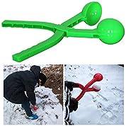 【 このゲームには必勝法がある 】 雪球を瞬時に作れる 雪玉 製造機 雪合戦 大会 スノーボール 雪はさみ EK-XJQ-1