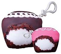 iscream Sugarlicious 。香りつきカップケーキミニマイクロビーズ枕Squishemバックパックチャーム One Size ブラウン 860-018