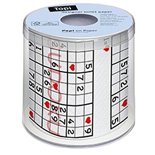 Paper+Design トイレットペーパー sudoku 3枚重ね 200...