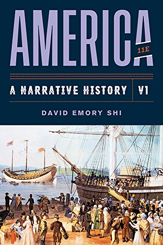 Download America: A Narrative History 0393668932