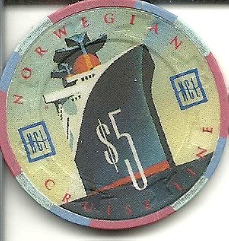 $ 5ノルウェークルーズ船カジノチップ