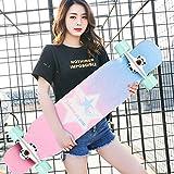 四輪スクーター、ステッカースケートボードバッグダンスボードアダルトティーン - R4 H1/22 (Color : A)