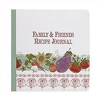 C・R・ギブソンqfrj-14116Alfresco Family and Friendsレシピジャーナル、マルチカラー