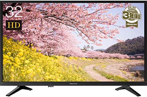 『ハイセンス Hisense 32V型 ハイビジョン液晶テレビ 32K30 IPSパネル メーカー3年保証 2018年モデル ダブルチューナー裏番組録画対応』のトップ画像