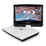 PUMPKIN ポータブルブルーレイプレーヤー 10.1インチ dvdプレーヤー ポータブル ドルビーオーディオ HDMI OUT 270度回転 CPRM USB/SD/MMC/AV-OUT/AV-IN対応 18ヶ月保障