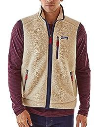 パタゴニア アウター ジャケット&ブルゾン Patagonia Men's Retro Pile Fleece Vest ElCapKhaki [並行輸入品]