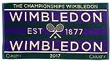 ウィンブルドン 公式タオル 2017年 メンズ 男子モデル 140周年記念 全英オープン テニス
