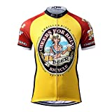 Thriller Rider Sports サイクルジャージ メンズ 男性自転車運動服装半袖 Cheers for Being 4 Colors