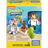 Mega Bloks SpongeBob SquarePants - Sandy Wacky Pack Building Kit