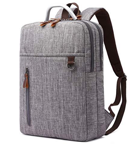 28417c993958 Ulgoo(ユルゴウ)ビジネスリュック リュックサック メンズ pcバッグ バッグパック軽量 キャンバス 大