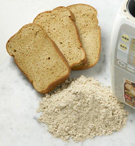 糖質オフ 小麦ふすま粉(低糖工房)糖質制限やダイエットにおすすめ! (糖質88% オフ ふすま食パンミックス粉 15斤分)