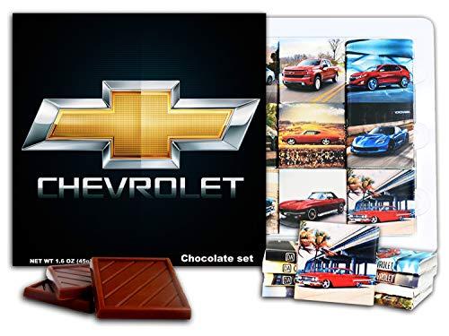 DA CHOCOLATE set Chevrolet キャンディスーベニア シボレー チョコレートギフトセット 13x13cm 1箱 (Prime 0623)