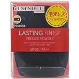 リンメル ラスティングプレストパウダー002 自然な肌色ツヤ肌 7g SPF25・PA++