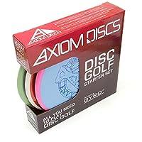 Axiom Discs 3-discプレミアムディスクゴルフスターターセット[色とモデルMay Vary ]